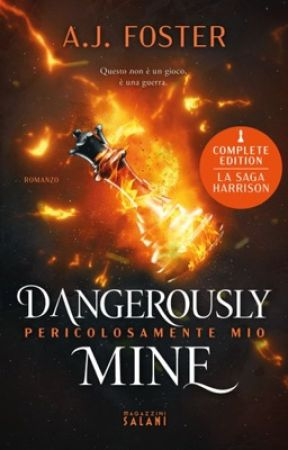 Dangerously mine    Saga Harrison by omlifestyle