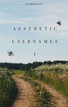 • aesthetic usernames: 1 || complete • by ughrosie