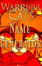 Warrior cats oc generator by Luna_Nova-chan