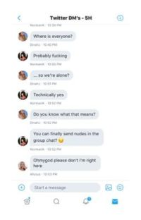 Twitter DM's - Fifth Harmony (Book 4) cover
