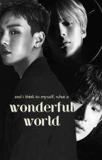 What a wonderful world by Monwonpanda