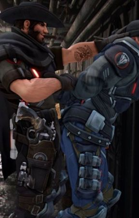 """""""Yes sir"""" - Reaper x McCree / Overwatch Archives: Retribution by JesseMcCree"""