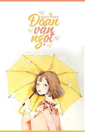 Đoản văn ngọt ngào by phuonganhmori