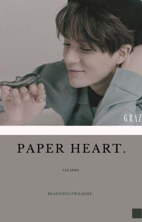 Paper Heart • NCT Jeno by beautifultwilight-