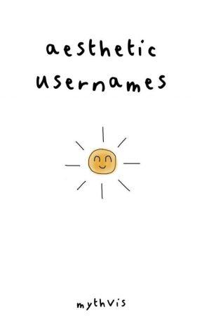 aesthetic usernames by Mythvis