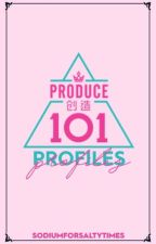 Produce 101 China Profiles by sodiumforsaltytimes