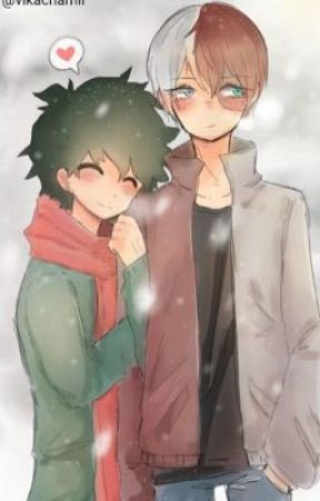 TodoDeku-Christmas Kiss by _Anime_Stories_