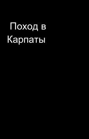 Поход в Карпаты by MusicLike4