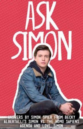 Ask Simon - Q&A With Simon Spier by SimonSpier-