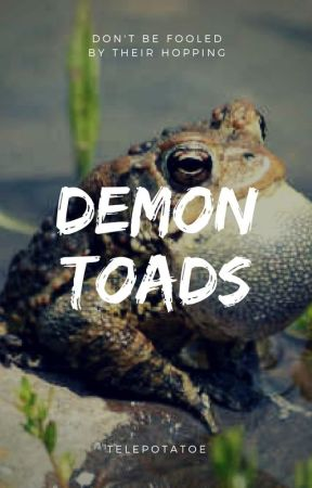 Demon Toads by callmeidiosyncratic