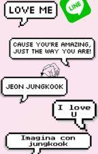 Line  (Jungkook & tu) by UMR_12