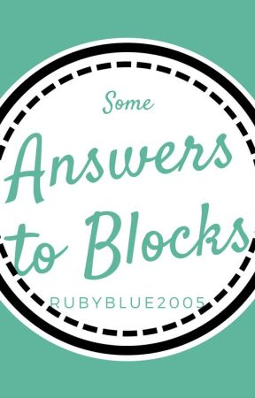 Answers to The Blocks by RubySchoolofBlues