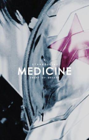medicine   bucky barnes by starryskins