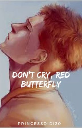 Don't Cry, Red Butterfly by PrincessDidi20
