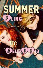 Summer Fling (COMPLETE) by BellaSH13