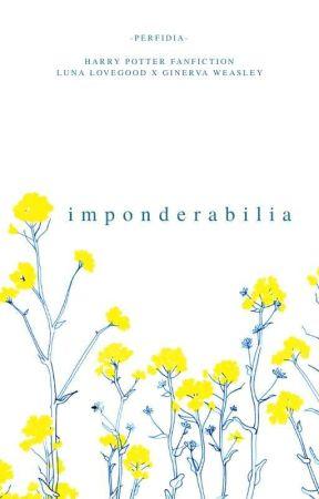 Imponderabilia by -perfidia-