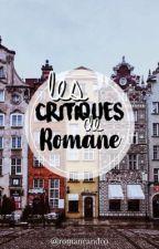 Les critiques de Romane. by RomaneAndCo