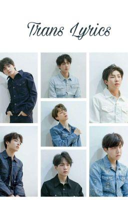 [Trans] BTS's Lyrics