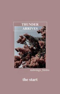 [i]  thunder arrives ◦ harry potter × marvel cover