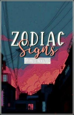 Zodiac Signs by PurrfectNeko2005