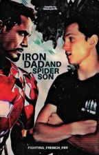 Iron Dad and Spider Son by Fighting_French_Fry