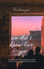 we don't know love yet.   bts & rv by blueberryssi