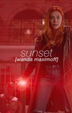 sunset. [wanda maximoff] by hoechlin72