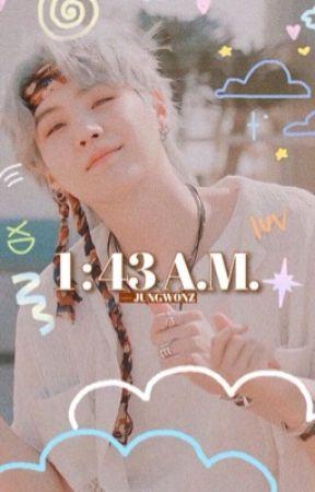 1:43 a.m. ¦ yoongi by kvrasuno