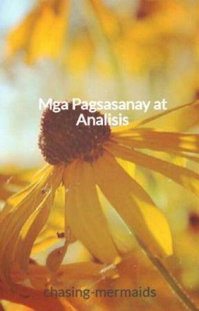 Mga Pagsasanay at Analisis by chasing-mermaids