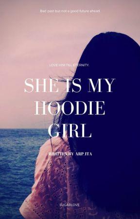 She is my hoodie girl.  ✔️ by Arp_Ita