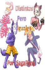 (CANCELADO) Distintos Pero Iguales (Popkeda) (Eepodek) by SagaPony
