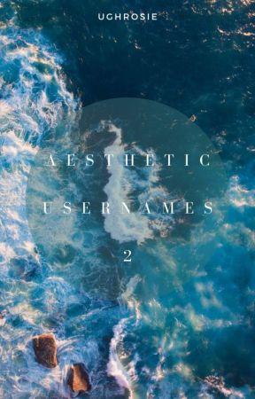 • aesthetic usernames: 2 || complete • by ughrosie