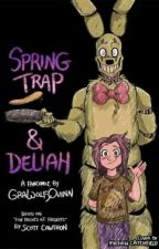 Springtrap and Deliah Comic by SabriaWoodal