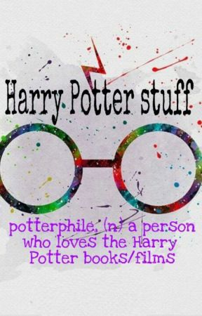 harry potter stuff by solo_mee