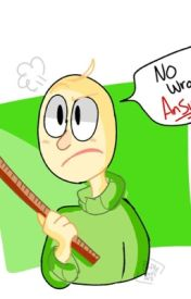 Baldi S Basic In Oneshots Art And Crafters X Gotta Sweep Human Ver Wattpad