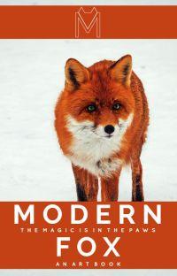 Modern Fox   an art book cover