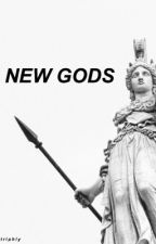 NEW GODS » JUSTICE LEAGUE by triphlys