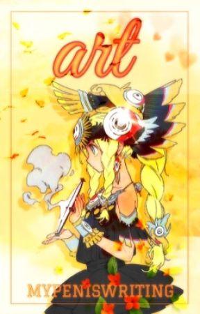 美術 art of anime ( author's artbook ) by MyPenIsWriting