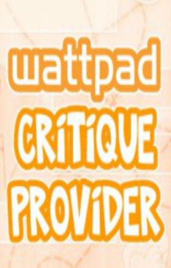 Wattpad Critique Provider