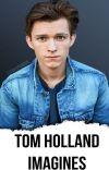 Tom Holland Imagines cover