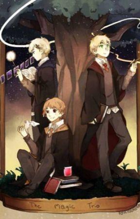 It's Called Magic // APH Magic Trio by yoongisxcheeks