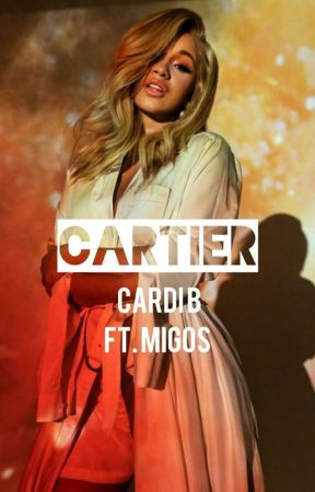 cartier . | cardi b book by Dracobanging4kt