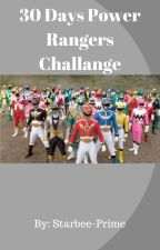 30 Days Power Rangers Challenge by Starbee-Prime