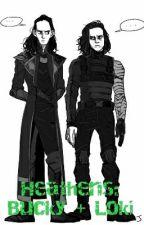 Heathens: Bucky + Loki by PurpleZombie15