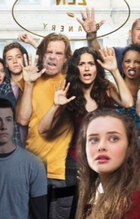 Shameless 13 reasons why imagines  by lovely_apricot
