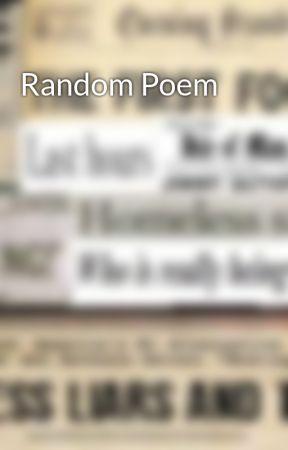 Random Poem by WhereMiseryLies
