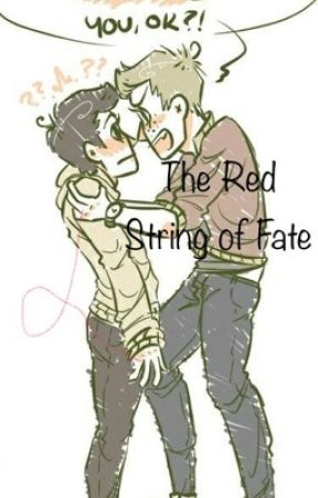 The Red String Of Fate. Destiel Highschool AU by hey_assbutt__