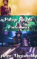 Palaye Royale Preferences (Completed ✔️) by pierce_the_maddy