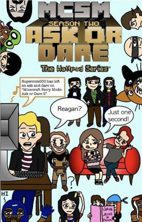 Minecraft Story Mode: Ask or Dare 2 by ReaTheMinecraftGirl