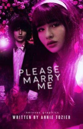 Please, Marry Me.   F.W.   by -ohmyweasley